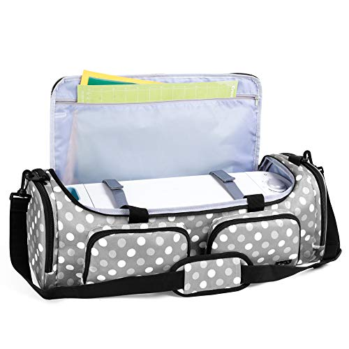 Luxja Bag for Cricut Explore Air (Air2) and Maker, Carrying Case for Cricut...