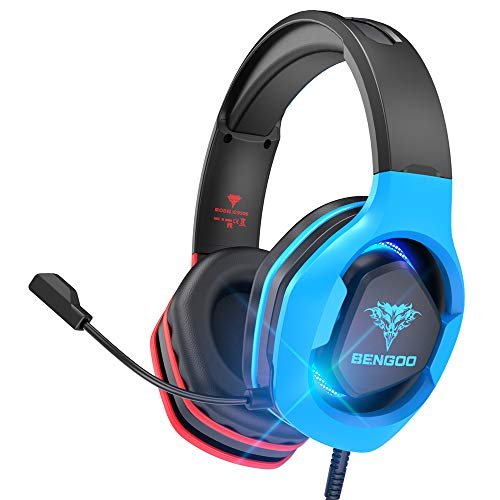BENGOO G9500 Gaming Headset Headphones for PS4 Xbox One PC Controller, Over...