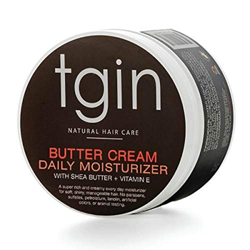 tgin Butter Cream Daily Moisturizer For Natural Hair - Dry Hair - Curly...