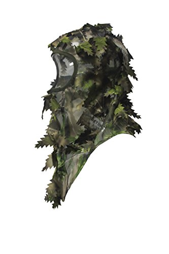 North Mountain Gear Camouflage Hunting Full Cover Leafy 3D Face Mask...