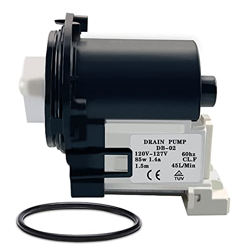 [UPGRADE] 4681EA2001T Washer Drain Pump Compatible with Kenmore, Washing...