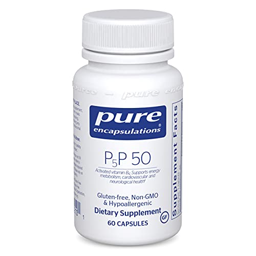Pure Encapsulations P5P 50 | Vitamin B6 Supplement to Support Metabolism* |...