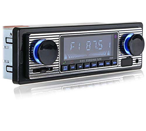 FYPLAY Classic Bluetooth Car Stereo , FM Radio Receiver, Hands-Free...