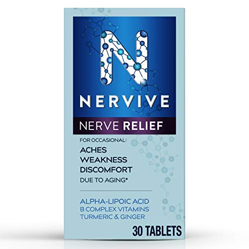 Nervive Nerve Relief, for Nerve Aches, Weakness, & Discomfort in Fingers,...