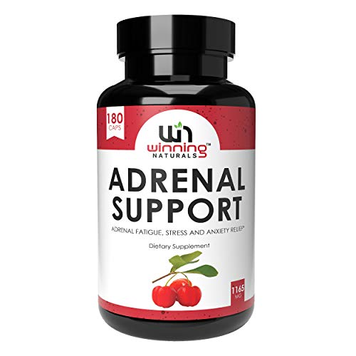 WINNING NATURALS Adrenal Support Supplements & Cortisol Manager to Help...