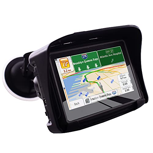 Thahamo 4.3 Inch Motorcycle GPS Navigation System GPS for Motorcycles GPS...