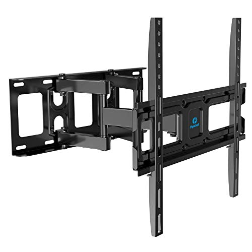 TV Wall Mount Bracket Full Motion Dual Swivel Articulating Arms Extension...