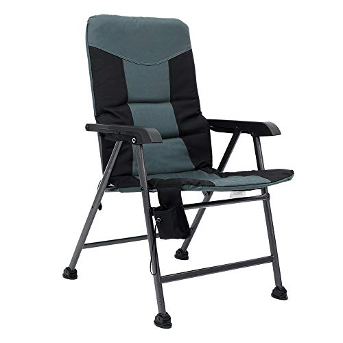 Coastrail Outdoor Premium Camping Chair Folding Design Thick Padding and...