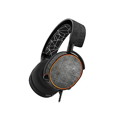 MightySkins Skin Compatible with SteelSeries Arctis 5 Gaming Headset -...