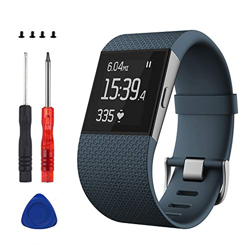 Sophili Replacement Bands Compatible for Fitbit Surge Watchwith Metal...