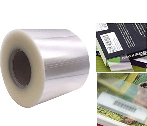 Clear Waterproof Label Protector Shields - 1 1/2'H x 3 1/2'W Gloss Finish...