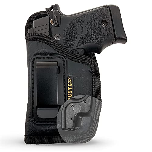 IWB Gun Holster by Houston | ECO Leather Concealment Inside | The Waistband...