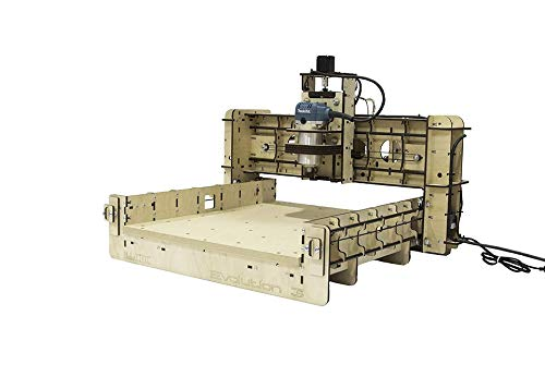 BobsCNC Evolution 3 CNC Router Kit with the Router Included (16' x 18'...