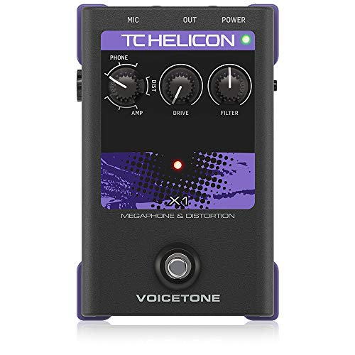 TC Helicon Vocal Effects Processor (VOICETONE X1)