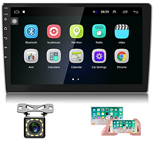 Hikity 10.1 Inch Android Car Stereo with GPS Double Din Car Radio Bluetooth...