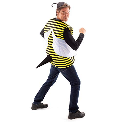 Busy Bee Halloween Costume - Cute One Size Bumblebee Suit, Antenna Hat, &...