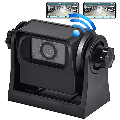 Oyviny WiFi Magnetic Wireless Backup Camera Rechargeable Trailer Hicth Rear...