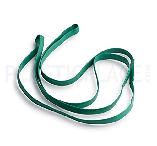 Plasticplace 17' Rubber Bands for 12-16 Gallon Trash Cans, 5 Pack...