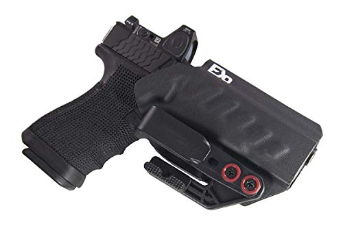 Fierce Defender IWB Holster Compatible with Glock 19 23 32 w/Tuckable Clip...