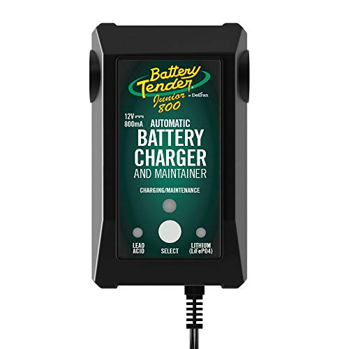Battery Tender Junior 12V Battery Charger and Maintainer: 800mA 12 Volt...