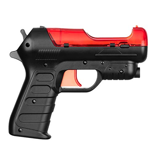 OSTENT Light Gun Shooter Pistol PS Move Motion Controller Compatible for...