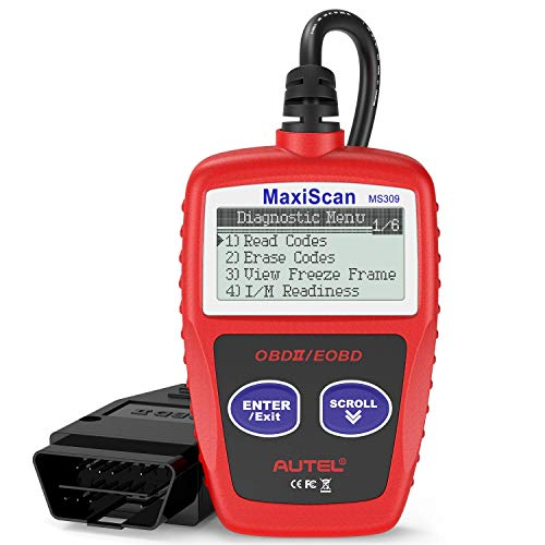 Autel MS309 OBD2 Scanner Check Engine Fault Code Reader, Read Codes Clear...