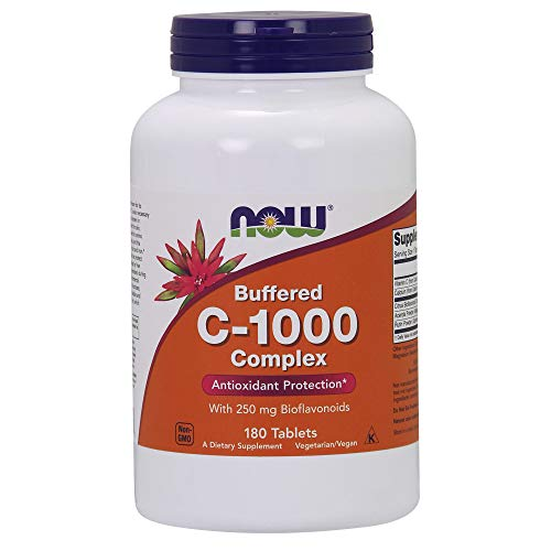 NOW Supplements, Vitamin C-1000 Complex with 250 mg of Bioflavonoids,...