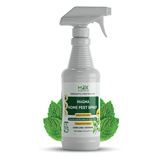 MDXconcepts Organic Home Pest Control Spray - Peppermint Oil - MADE IN USA...