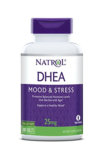 Natrol DHEA Tablets, Promotes Balanced Hormone Levels, Supports a Healthy...