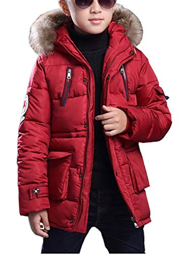 FARVALUE Boy Winter Coat Warm Quilted Puffer Water Resistant Parka Jacket...