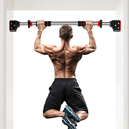 MUSCOACH Pull Up Bar for Doorway - Chin Up Bar No Screw Installation...