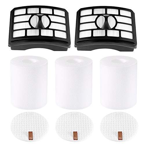 isinlive 2 + 3 Pack Vacuum Filters Compatible with Shark Rotator...