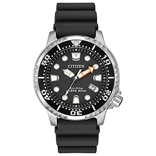 Citizen Eco-Drive Promaster Diver Quartz Mens Watch, Stainless Steel with...