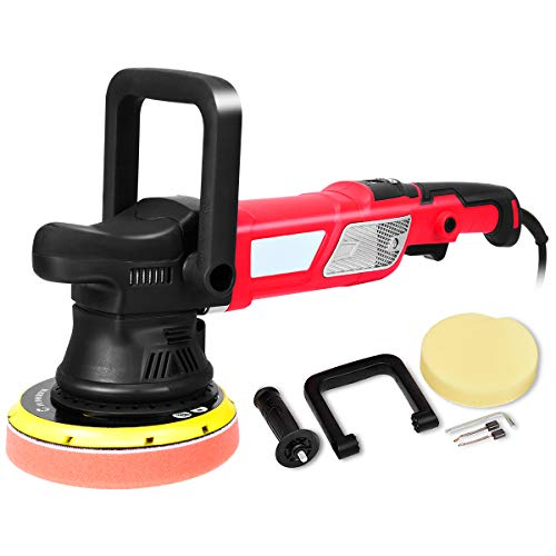 Goplus 6 Inch Variable Speed Sander All-in-One Polisher Dual-Action Random...