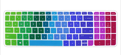 Keyboard Cover Skin Compatible for 15.6 inch HP Pavilion 15-ab 15-ac 15-ae...