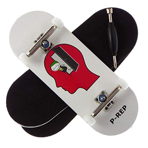 P-REP Larry TS - Solid Performance Complete Wooden Fingerboard (Chromite,...