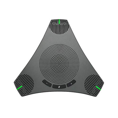 USB Speakerphone Microphone for 8-10 People Business Conference,360°...
