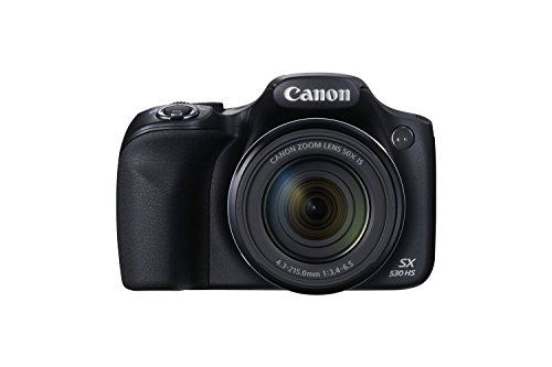 Canon PowerShot SX530 HS 16.0 MP CMOS Digital Camera with 50x Optical is...