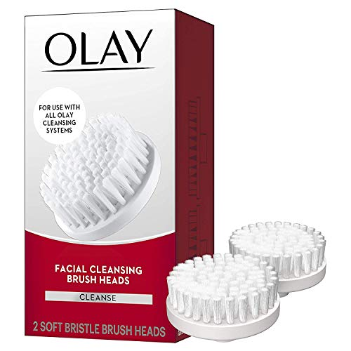 Olay Facial Cleaning Brush Replacement Heads, 2 Count