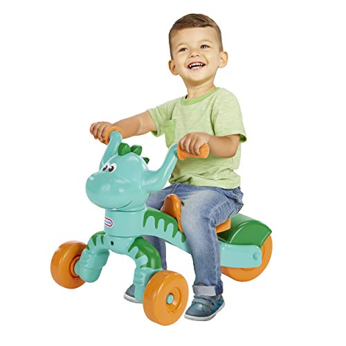 Little Tikes Go and Grow Dino Indoor Outdoor Ride On Toy Trike for...