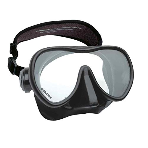 Oceanic Shadow Frameless Dive Mask, (Great for Scuba Diving and Snorkeling)...