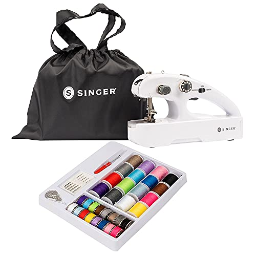 SINGER Stitch Quick + Portable Cordless Mending Machine with Sewing Kit &...