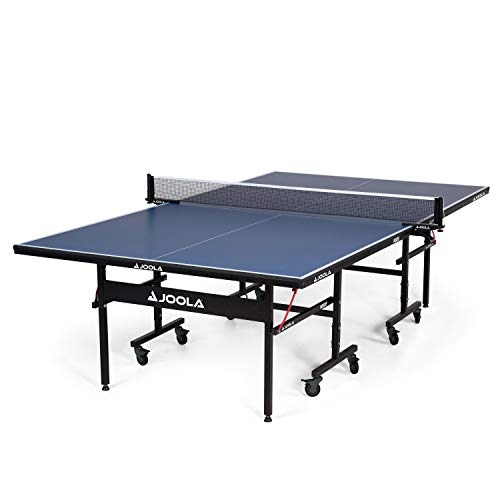 JOOLA Inside 15mm Table Tennis Table with Net Set - Features Quick 10-Min...