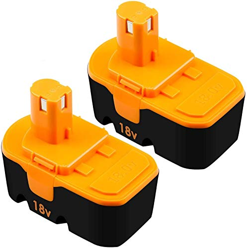 [Upgraded to 3.8Ah] 2 Pack P100 Replacement Battery Compatible with Ryobi...