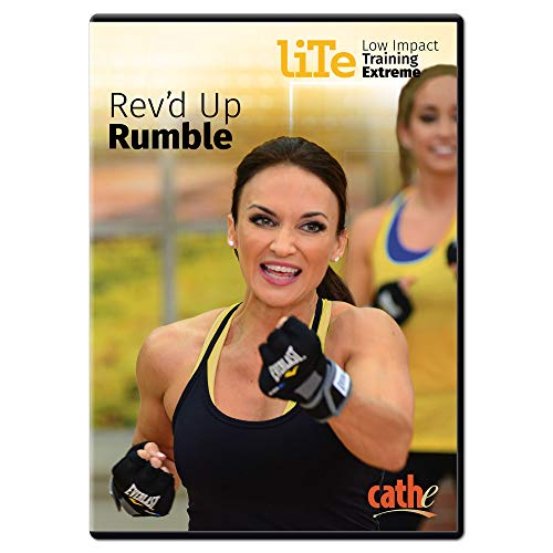 Cathe Friedrich LITE Series (Low Impact Training Extreme) Rev'd Up Rumble...