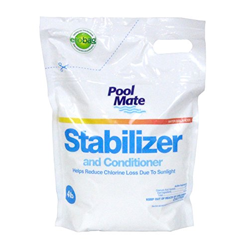 Pool Mate 1-2604B Swimming Pool Stabilizer and Conditioner, 4-Pounds