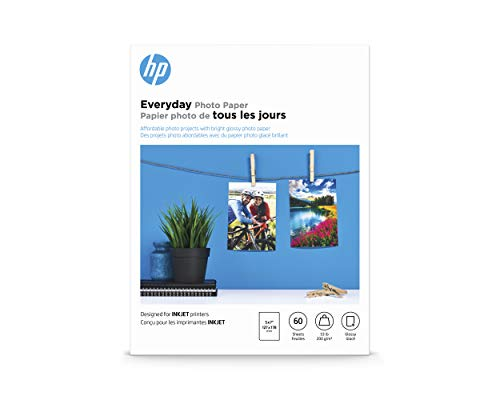 Learning Resources CH097A HP Photo Paper for HP Inkjet Printers - Everyday...