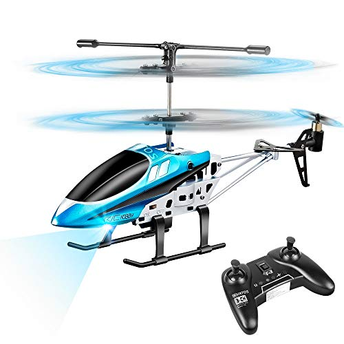 VATOS RC Helicopters, Remote Control Helicopter with Gyro and LED Light 3...