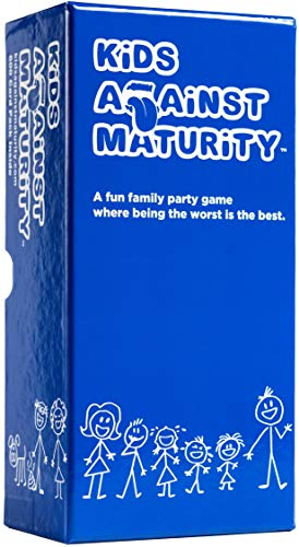 Kids Against Maturity: Card Game for Kids and Families, Super Fun Hilarious...