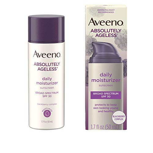 Aveeno Absolutely Ageless Anti-Wrinkle Facial Moisturizer with Broad...